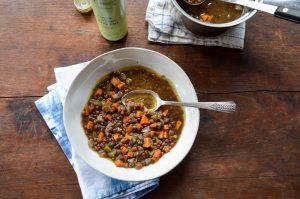Slow Cooker Lentil Soup   In Jennie's Kitchen