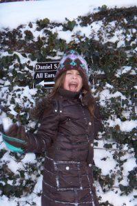 Bella & Mikey Last Snowfall | In Jennie's Kitchen