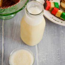 Almond Milk Eggnog {dairy free}