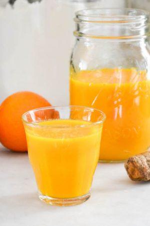 Citrus, Ginger & Turmeric Tonic