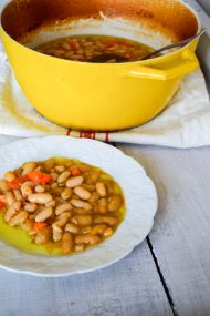 Braised White Beans | In Jennie's Kitchen