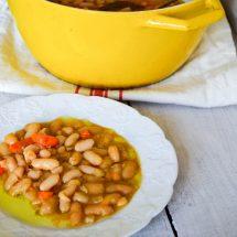 Braised White Beans