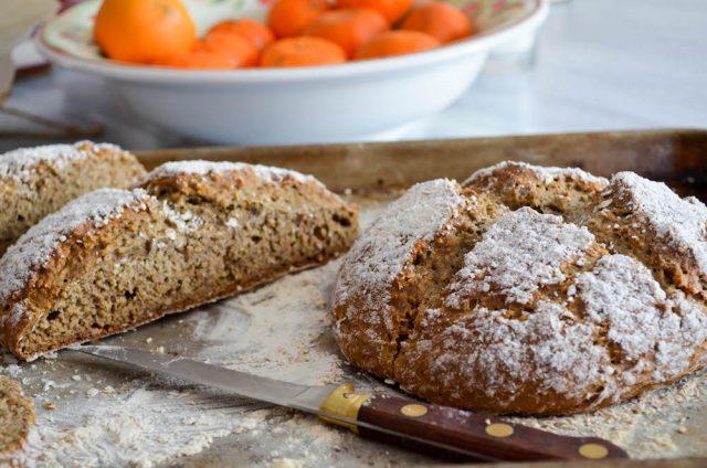 Buckwheat Oat Soda Bread | In Jennie's Kitchen