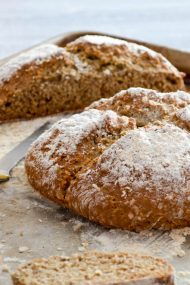 Buckwheat Oat Soda Bread | In Jennie's Kitchen