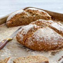 Buckwheat Oat Soda Bread