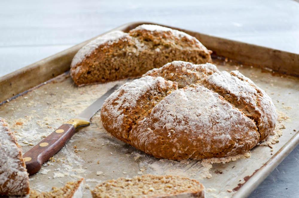 Buckwheat Oat Soda Bread Recipe  In Jennie's Kitchen
