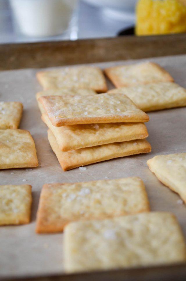 Homemade Saltine Crackers   In Jennie's Kitchen