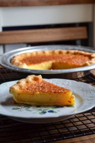 Lemon Honey Chess Pie