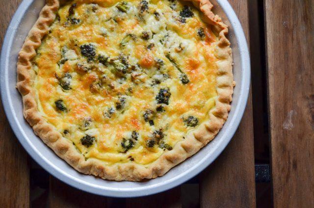 Broccoli Cheddar Cheese Pie   In Jennie's Kitchen
