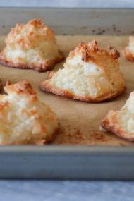 Coconut Macaroons | In Jennie's Kitchen