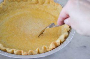 Perfect Pre-Baked Pie Crust | In Jennie's Kitchen