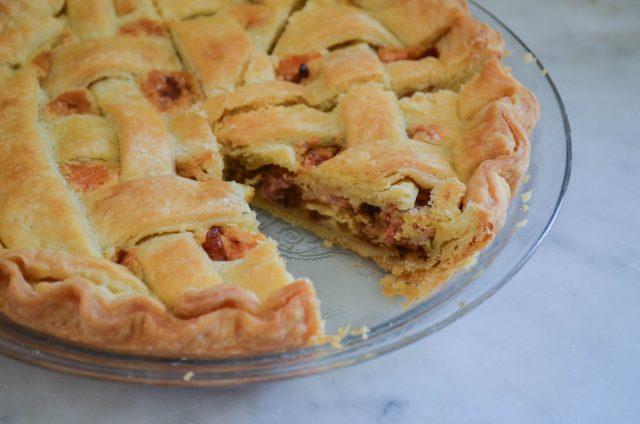 Sauteed Onion, Bacon & Thyme Pie   In Jennie's Kitchen