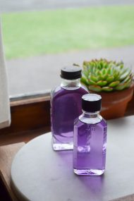 Homemade Violet Syrup | In Jennie's Kitchen