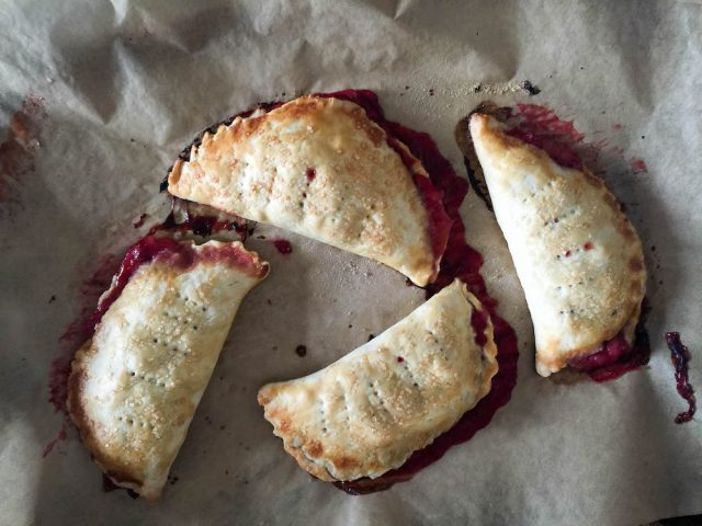 Strawberry Rhubarb Hand Pies | In Jennie's Kitchen
