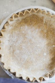Buckwheat Perfect Pie Crust | In Jennie's Kitchen