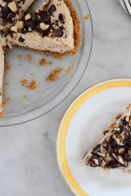 Creamy Peanut Butter Pie | In Jennie's Kitchen