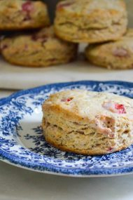Strawberry Poppy Seed Scones | In Jennie's Kitchen