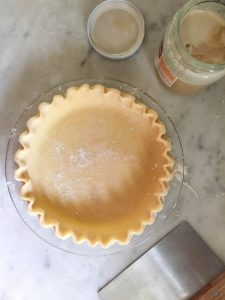 Honey Pie Crust | In Jennie's Kitchen