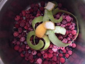 Raspberry Violet Jam | In Jennie's Kitchen