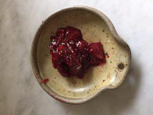 Raspberry Violet Jam   In Jennie's Kitchen