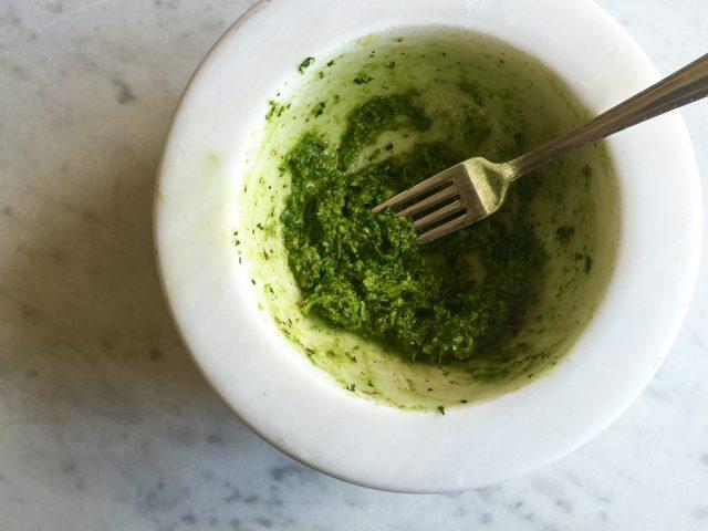 Ginger, Parsley & Pistachio Pesto | In Jennie's Kitchen