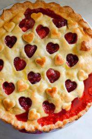 Strawberry Cherry Pie | In Jennie's Kitchen