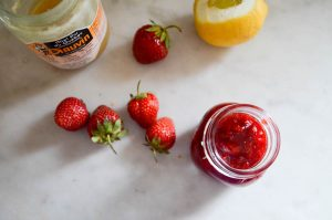 Strawberry Honey Rosemary Jam | In Jennie's Kitchen