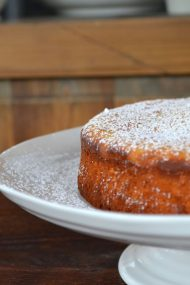 Lemon, Honey & Olive Oil Cake