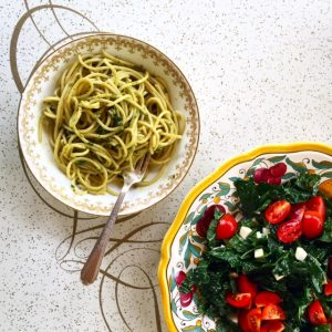 Basil & Pistachio Pesto | In Jennie's Kitchen