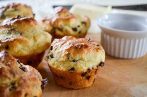 Chocolate Chip Pancake Muffins Recipe | In Jennie's Kitchen
