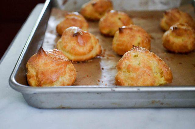 Gougères Recipe | In Jennie's Kitchen