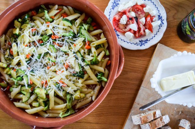 Penne Primavera Recipe | In Jennie's Kitchen