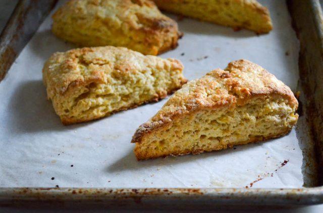 Roasted Peach Scones Recipe   In Jennie's Kitchen