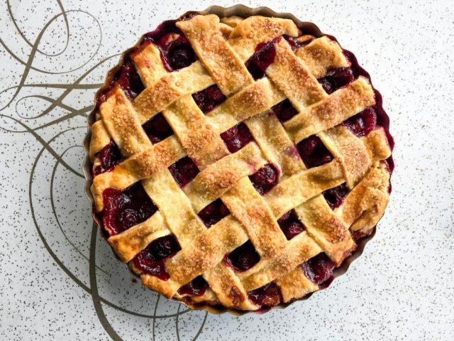 Sour Cherry Pie Recipe | In Jennie's Kitchen