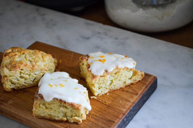 Apple Fennel Scones | In Jennie's Kitchen