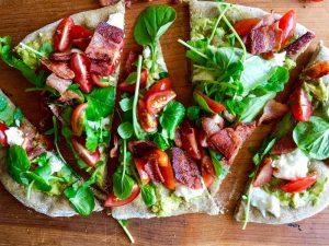 BLT Pizza Recipe   In Jennie's Kitchen