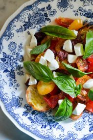 Caprese Bruschetta | In Jennie's Kitchen