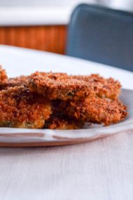 Crispy Baked Zucchini Recipe | In Jennie's Kitchen