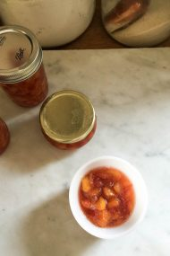 Nectarine Jam | In Jennie's Kitchen_