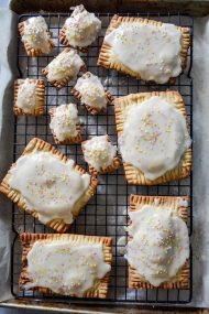 Homemade Peach Pop Tarts