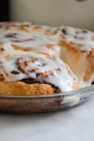 Small Batch Cinnamon Buns Recipe | In Jennie's Kitchen