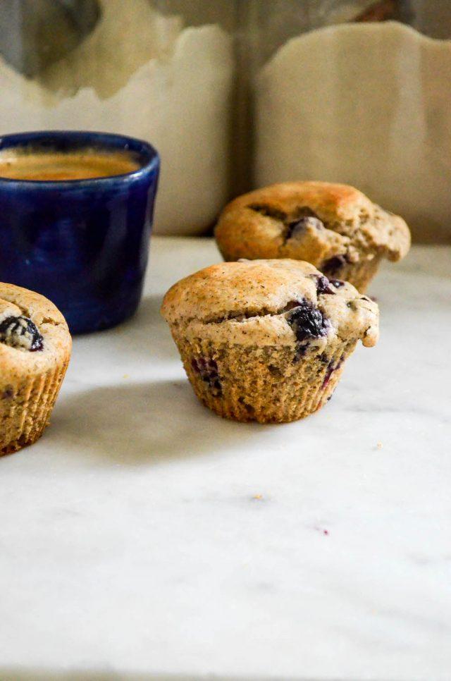 Whole Grain Blueberry Muffins   In Jennie's Kitchen