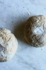 Whole Grain Pizza Dough Recipe | In Jennie's Kitchen