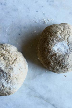 Whole Grain Pizza Dough Recipe | In Jennie's Kitchen