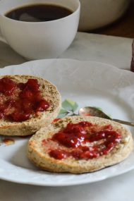 Buckwheat English Muffins | In Jennie's Kitchen