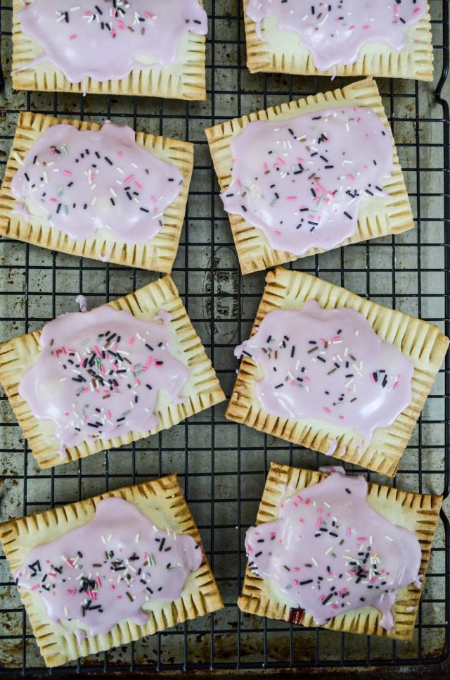 Homemade Cherry Pop Tarts Recipe | In Jennie's Kitchen