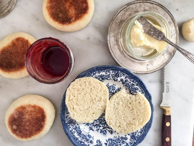 Homemade English Muffins | In Jennie's Kitchen