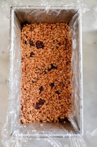 No Bake Crispy Brown Rice Bars Recipe | In Jennie's Kitchen