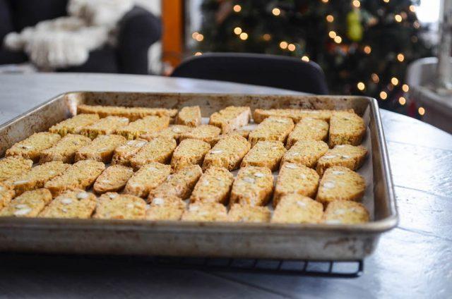 Almond Fennel Biscotti   In Jennie's Kitchen