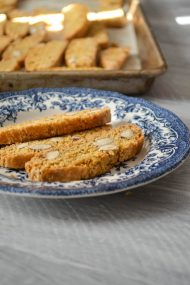 Almond Fennel Biscotti | In Jennie's Kitchen